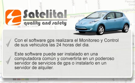 Caracteristicas de Software GPS